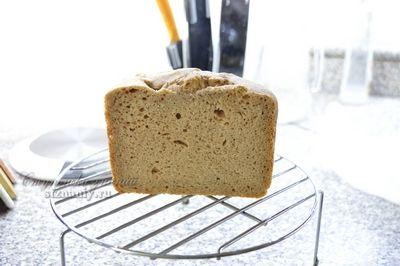 Хлеб на ржаной закваске с ржаными отрубями