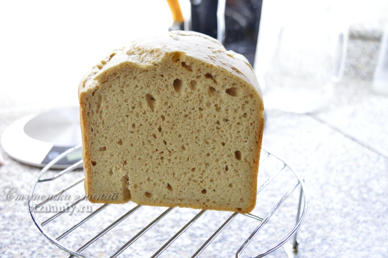 Ржаной хлеб на бездрожжевой закваске - кулинарный рецепт